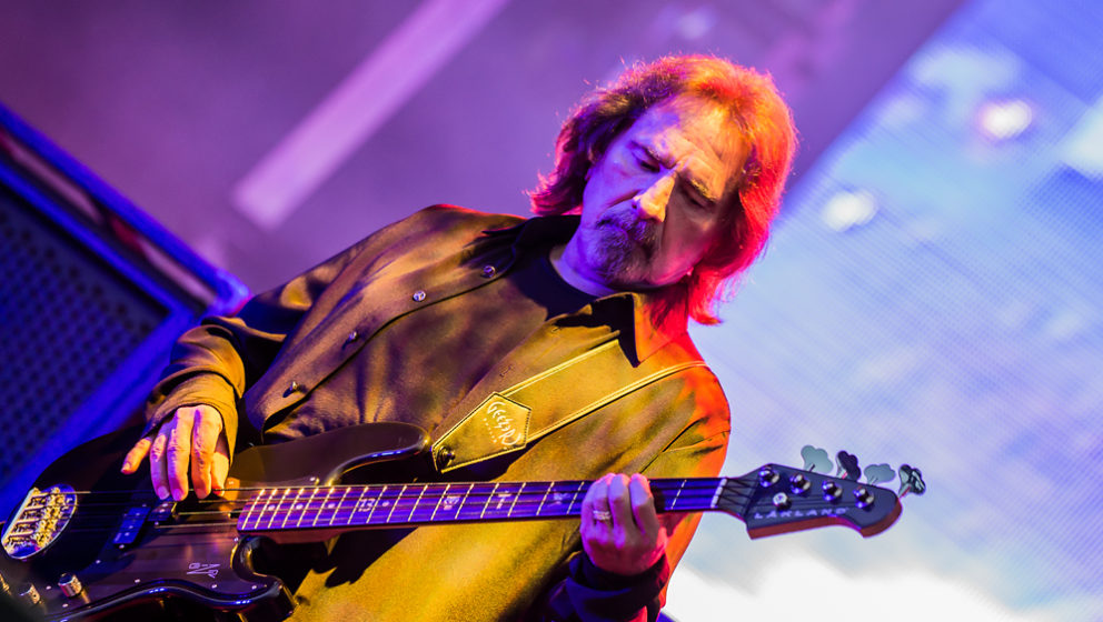 Geezer Butler mit Black Sabbath bei Rock im Park 2016