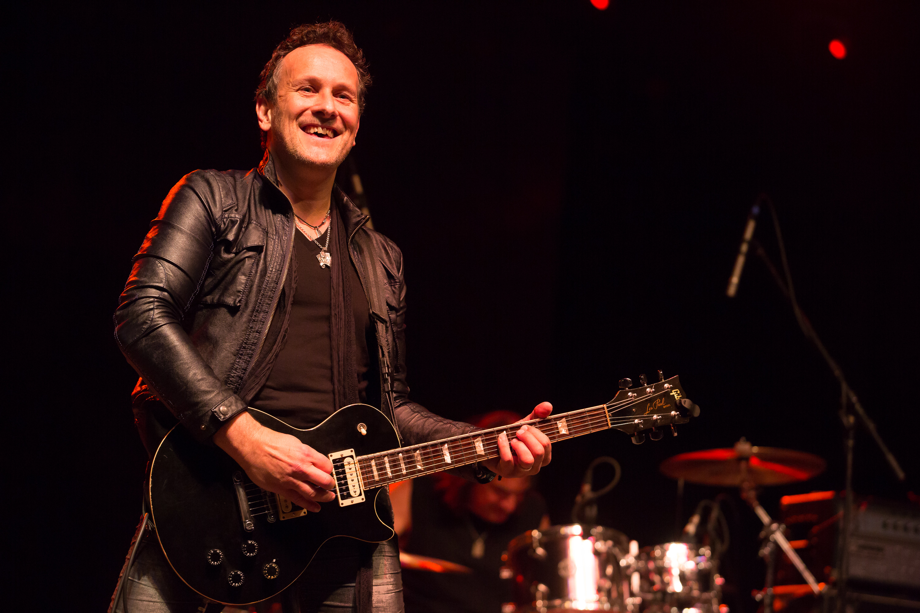 PRYOR, OK - MAY 27:  Musician Vivian Campbell of Last In Line performs at Catch The Fever Festival Grounds on May 27, 2016 in