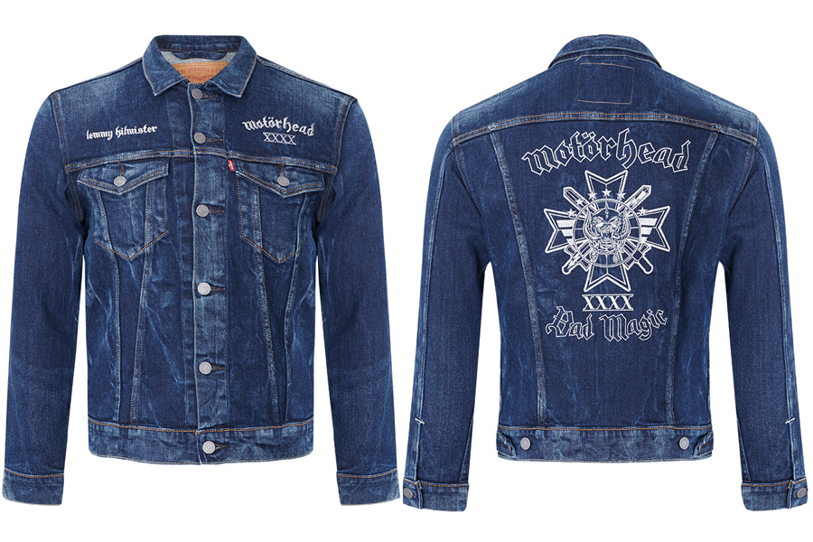 X Eine Trucker Gewinnt Motörhead Levi's® Jacket uXiTwOPkZ