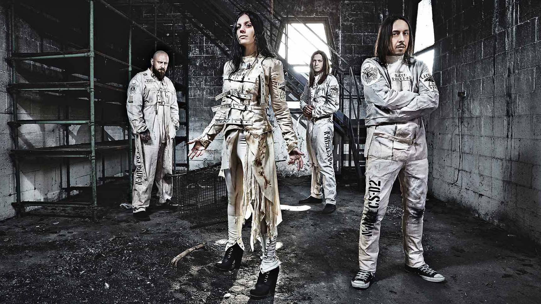 Lacuna Coil: Am 27. Mai 2016 erschien ihr neues Album DELIRIUM
