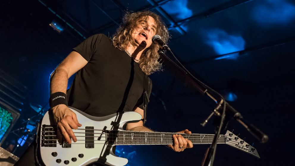 Megadeth-Bassist Dave Ellefson