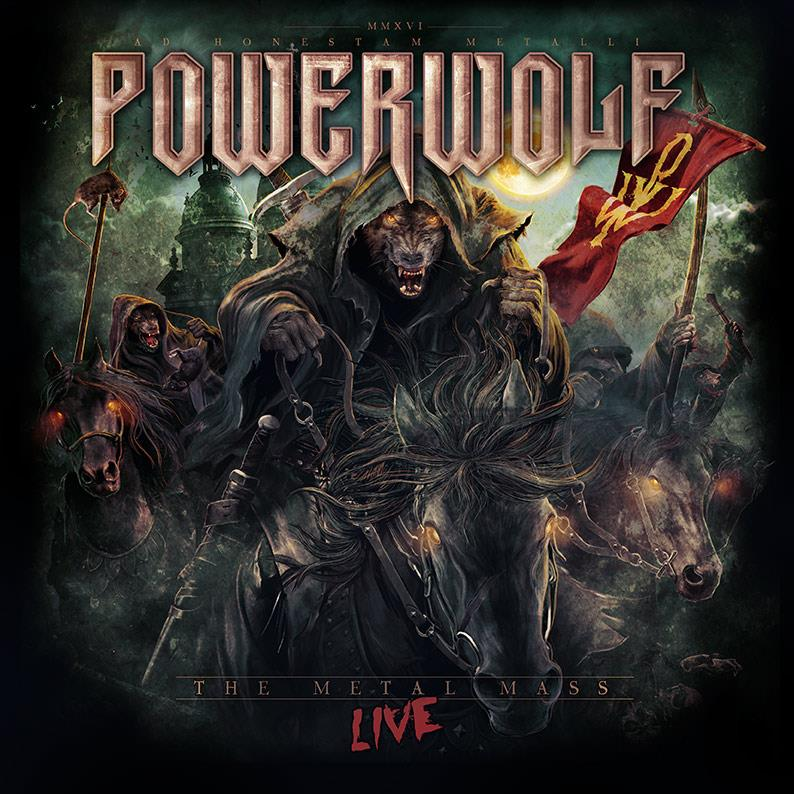 Powerwolf THE METAL MASS LIVE