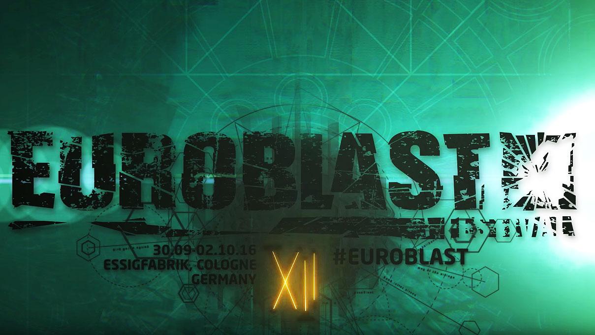 Das Euroblast Festival XII wird vom 30.09. bis zum 02.10. in Köln veranstaltet.