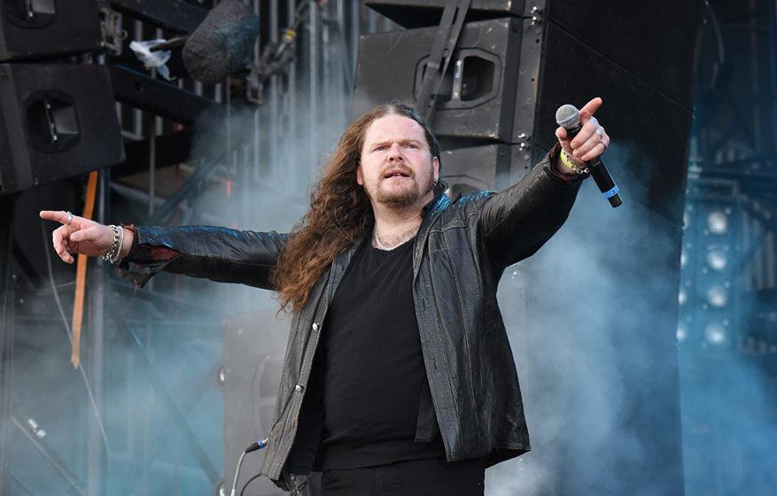 Andreas 'Vintersorg' Heldung bei der Borknagar-Show auf dem Wacken Open Air 2016