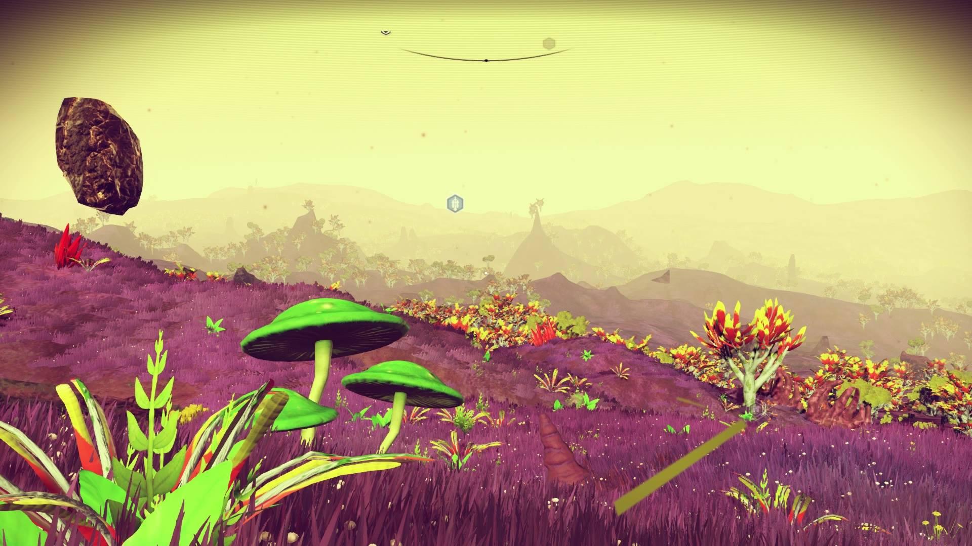 In der Ruhe dieser weiten Landschaft liegt die Weltraum-Kraft.