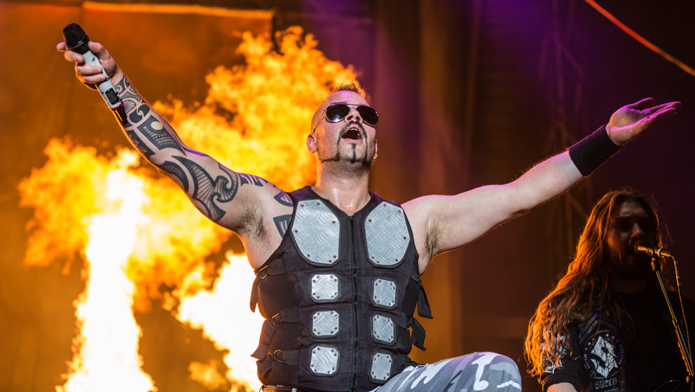 Sabaton @ Summer Breeze 2016