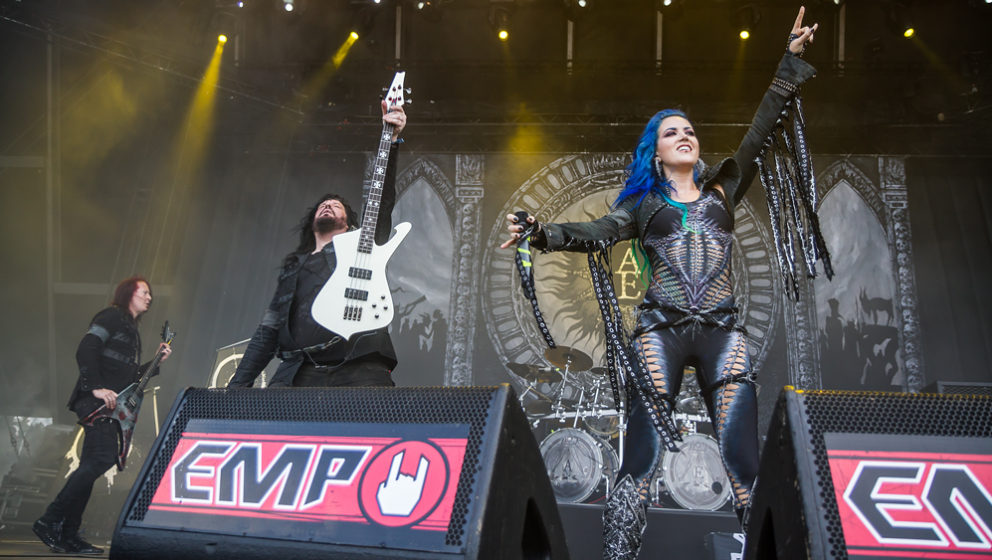 Arch Enemy @ÊSummer Breeze 2016