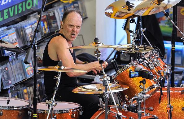 Metallica-Drummer Lars Ulrich kann auch (ein bisschen) singen (Foto: Steve Jennings/Getty Images)
