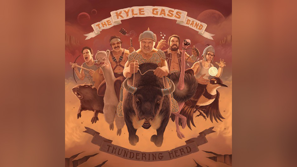 Kyle Gass Band, The THUNDERING HERD