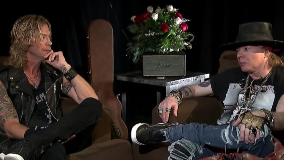 Guns N' Roses: Axl Rose und Duff McKagan im ersten gemeinsamen Interview nach Reunion