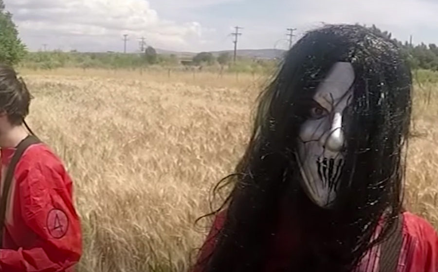 Ausschnitt aus dem Video: 70 Slipknot-Songs in 7 Minuten.
