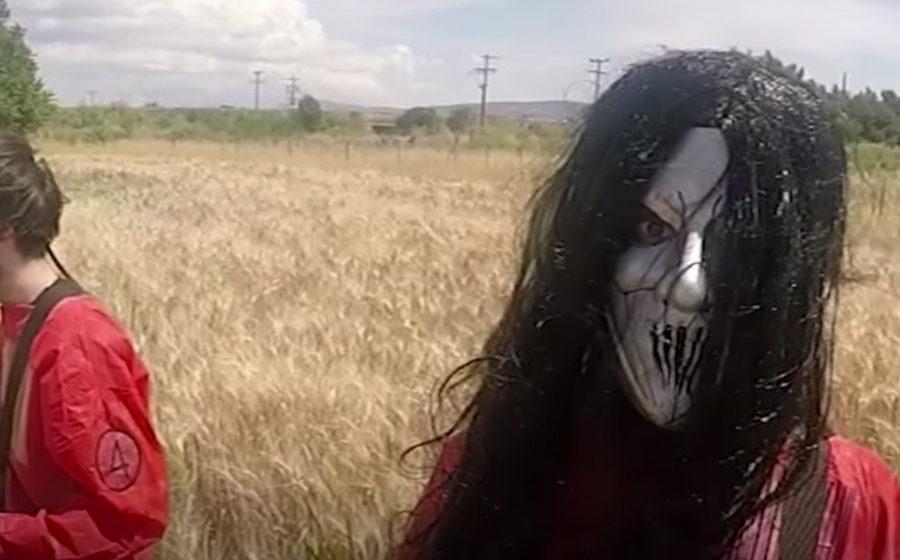 Ausschnitt aus dem Video: 70 Slipknot-Songs in 7 Minuten.