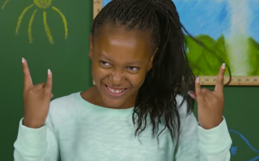 Kinder hören Metallica zum ersten Mal.