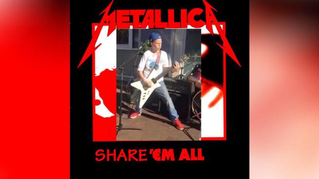Metallica teilen ein Video und machen Kids damit zu Internet-Stars.