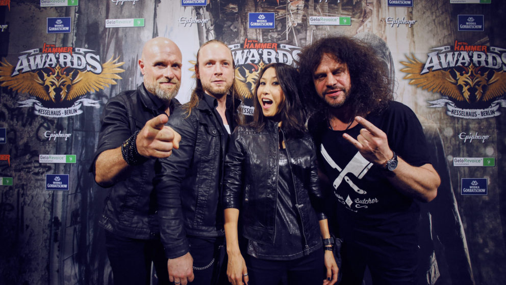 And Then She Came @ METAL HAMMER AWARDS Black Carpet 2016