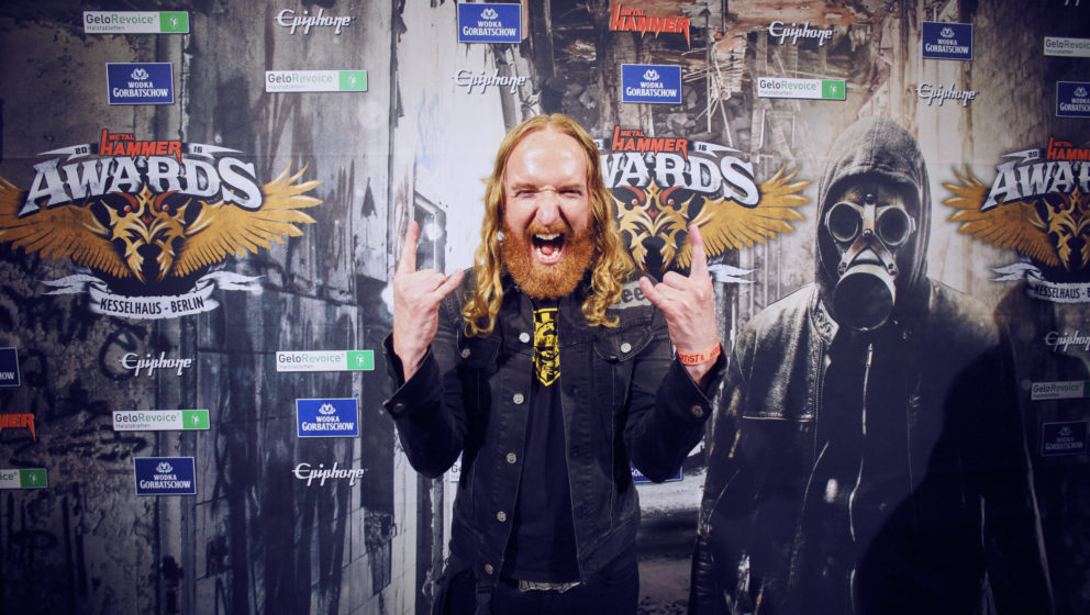 Mikael Stanne (Dark Tranquillity) @ METAL HAMMER AWARDS Black Carpet 2016