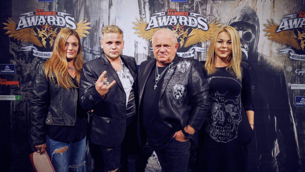 Dirkschneider @ METAL HAMMER AWARDS Black Carpet 2016
