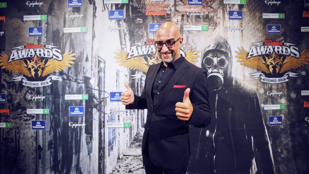 Alex 'Der Checker' Wesselsky (Eisbrecher) @ METAL HAMMER AWARDS Black Carpet 2016