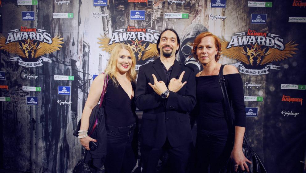 Gordeon Staff @ METAL HAMMER AWARDS Black Carpet 2016