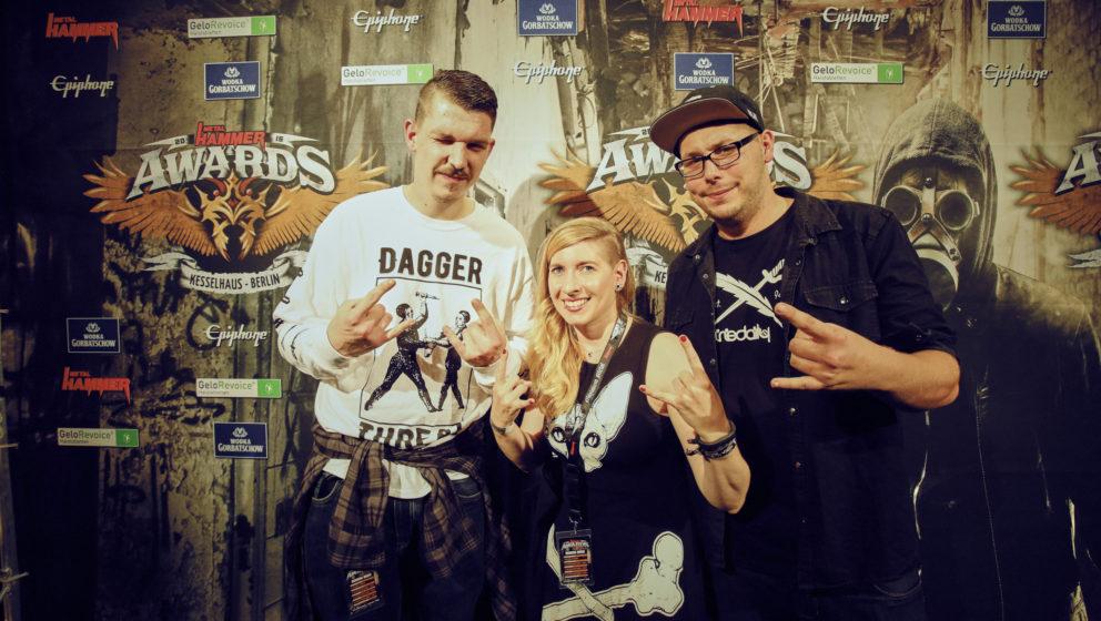 Johnny Deathshadow @ METAL HAMMER AWARDS Black Carpet 2016
