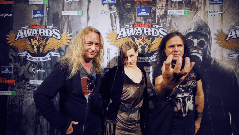 Kreator @ METAL HAMMER AWARDS Black Carpet 2016