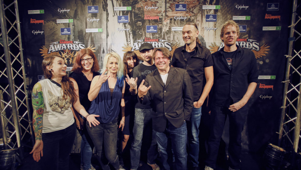 Napalm Records Staff @ METAL HAMMER AWARDS Black Carpet 2016