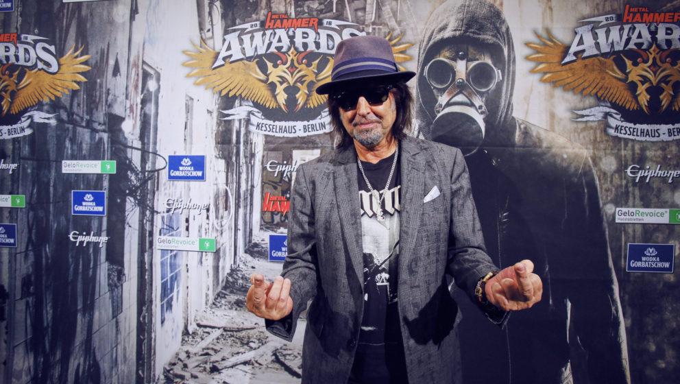 Phil Campbell @ METAL HAMMER AWARDS Black Carpet 2016