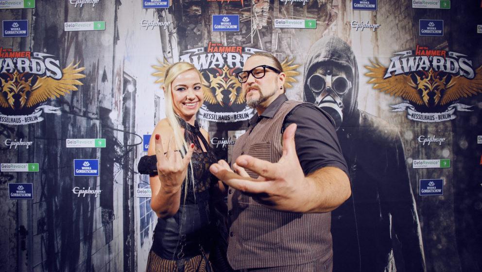 Powerwolf @ METAL HAMMER AWARDS Black Carpet 2016