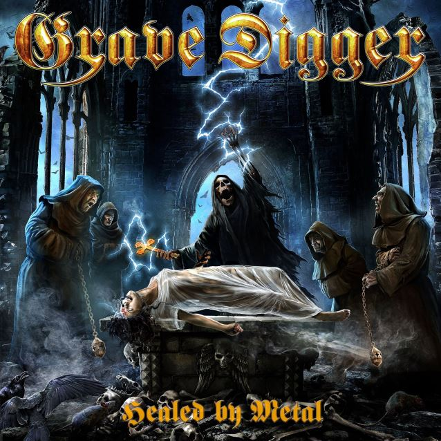 Albumcover Grave Digger HEALED BY METAL