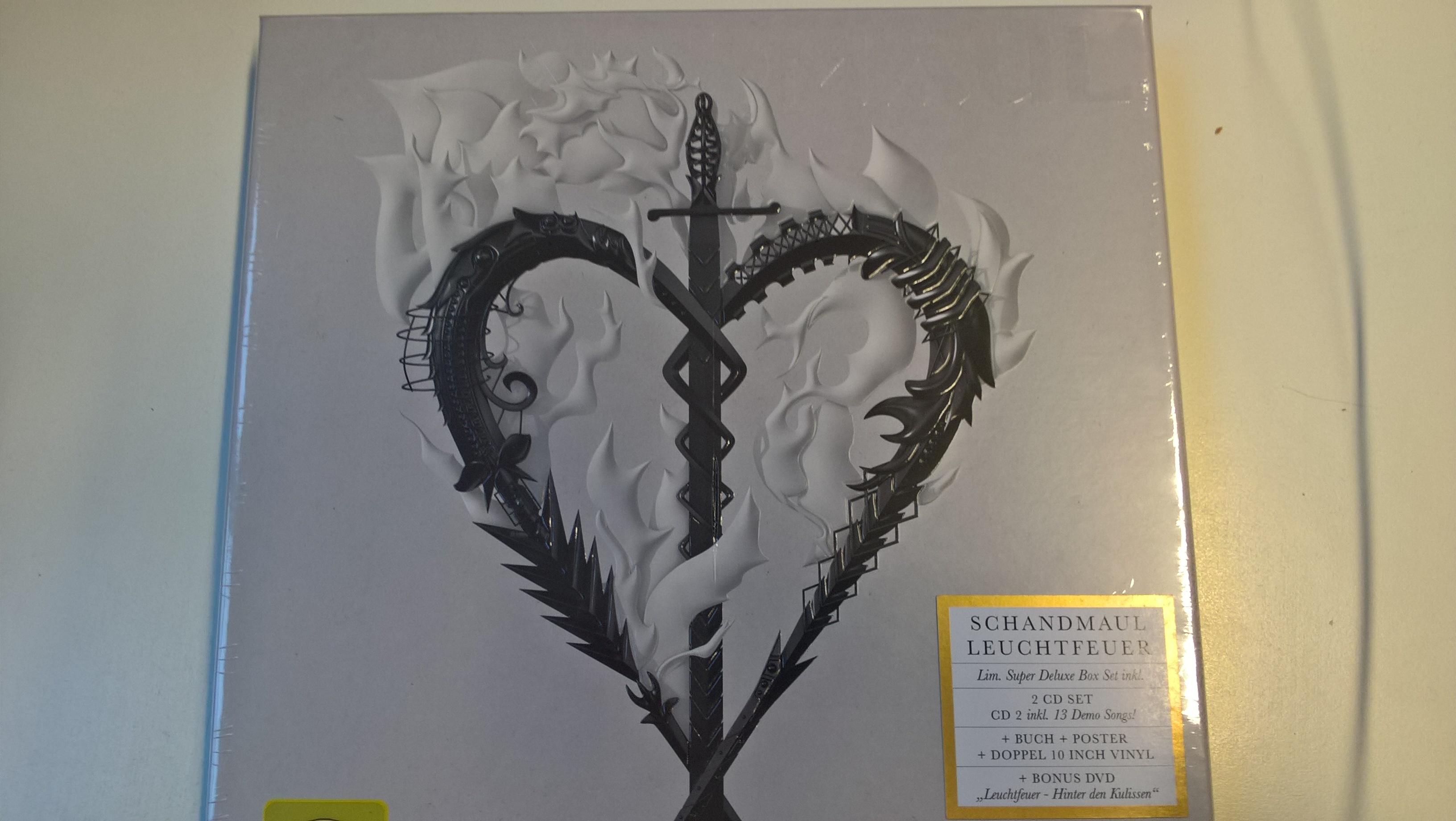 Schandmaul LEUCHTFEUER Deluxe-Box