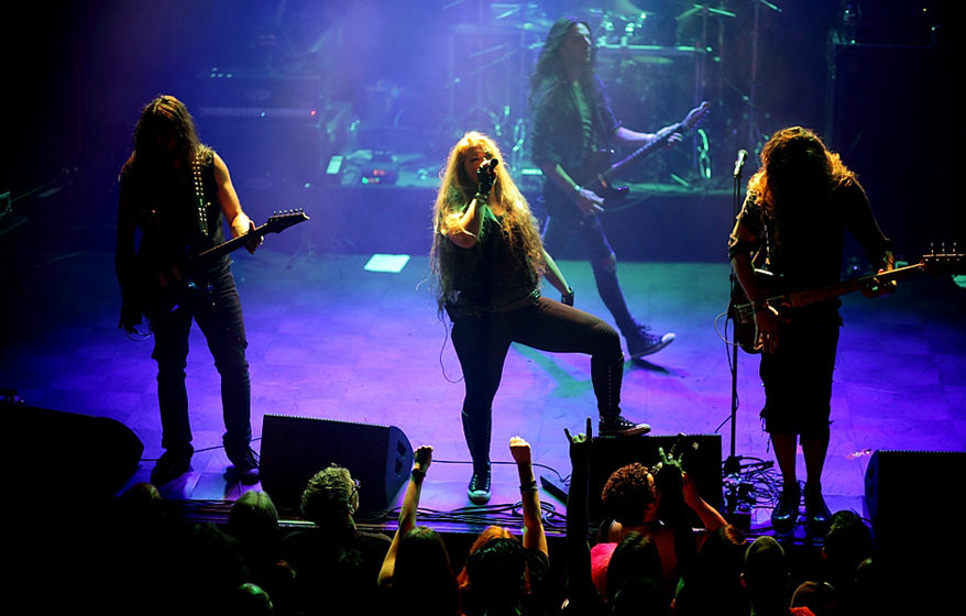 The Agonist @ Epic Metal Fest 2016