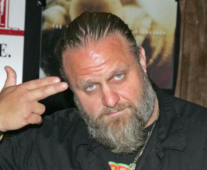 Der Regisseur uns Slipknot-Musiker Shawn 'Clown' Crahan.