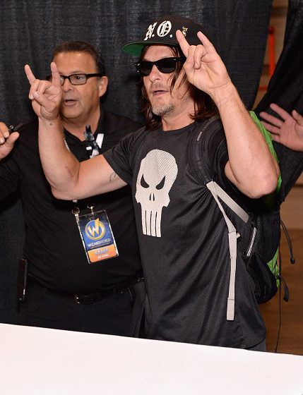 Norman Reedus alias 'Daryl Dixon' aus The Walking Dead