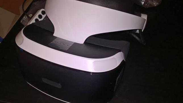 PlayStation VR: Das Headset in Nahaufnahme