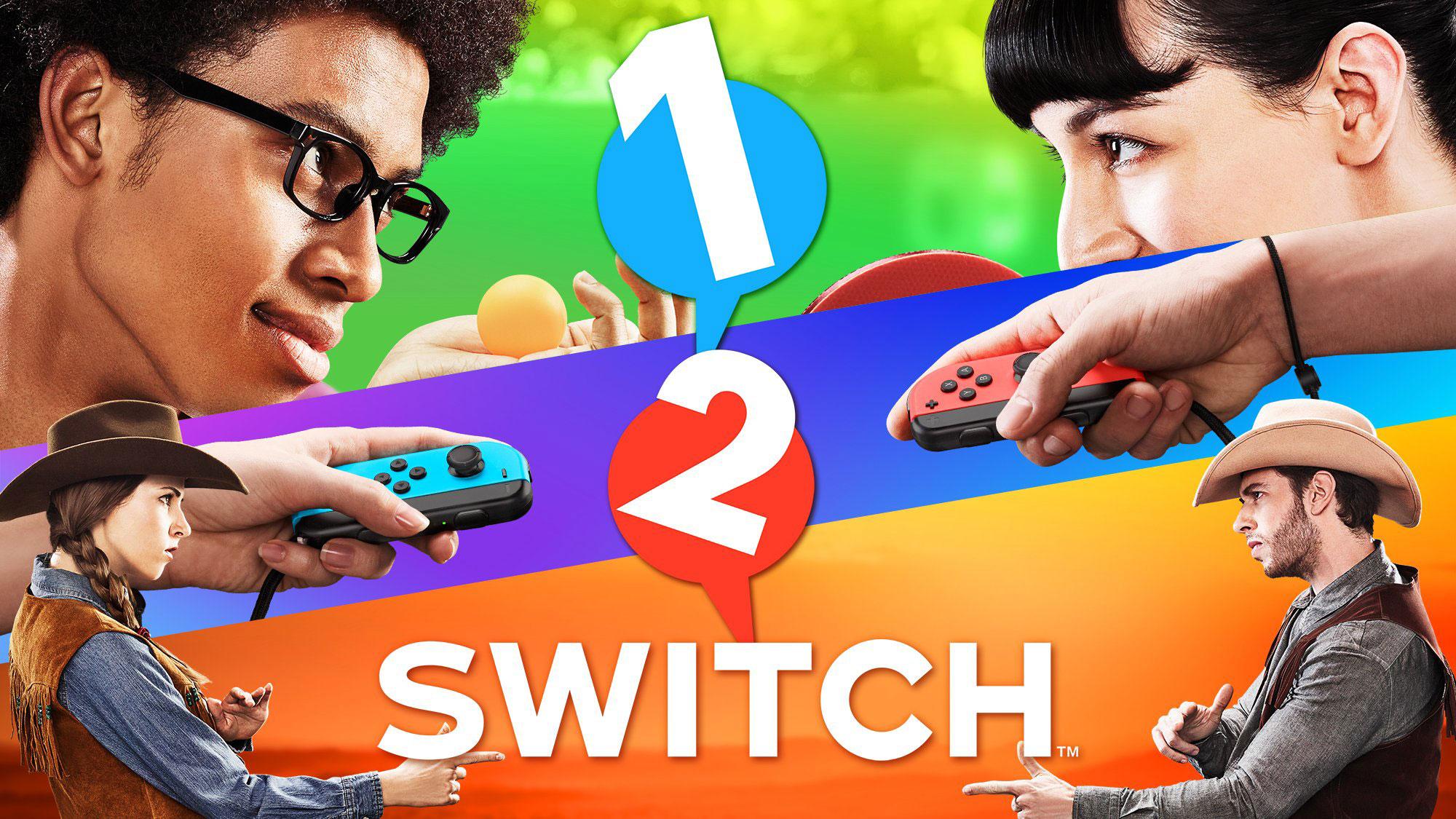 1-2-Switch ist ein Partyspiel für Nintendo Switch
