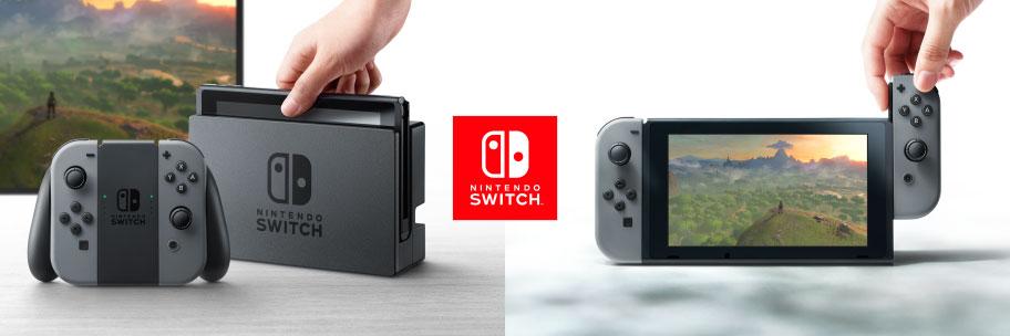 Nintendo Switch: Stationäre Konsole und Handheld in einem.