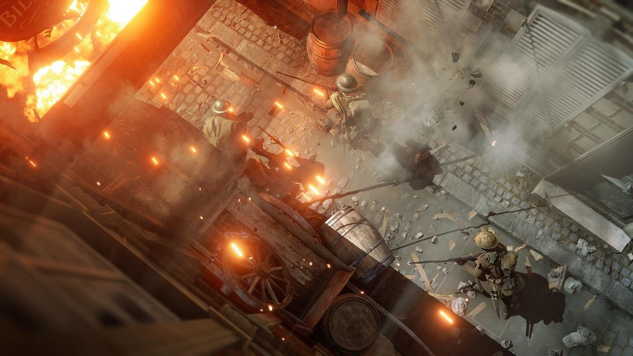 Nur mit Teamwork kommt man in Battlefield 1 zum Erfolg