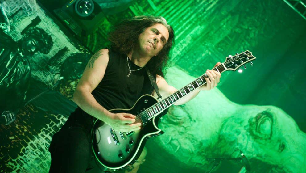 Testament-Gitarrist Alex Skolnick (Foto: Sarah Fleischer)