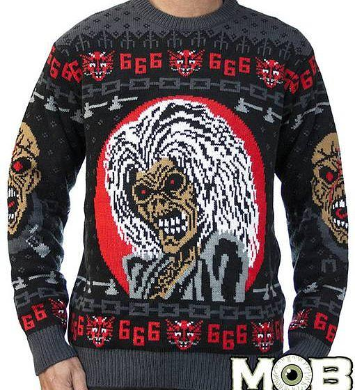 Der Iron Maiden Weihnachtspullover