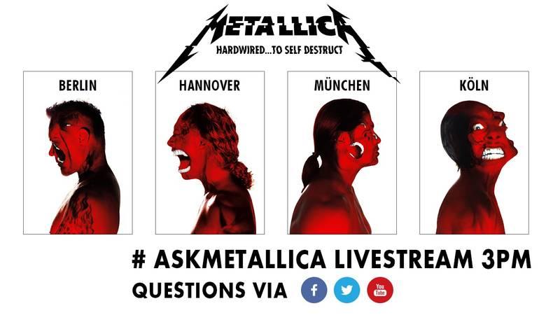 Der Metallica Live-Chat