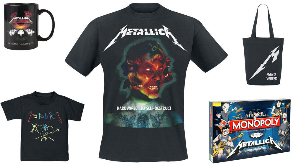 Das beste Metallica-Merchandise
