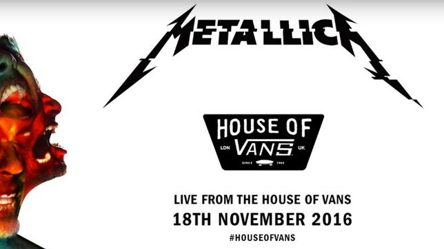Um 22 Uhr starten Metallica mit der Live-Übertragung!