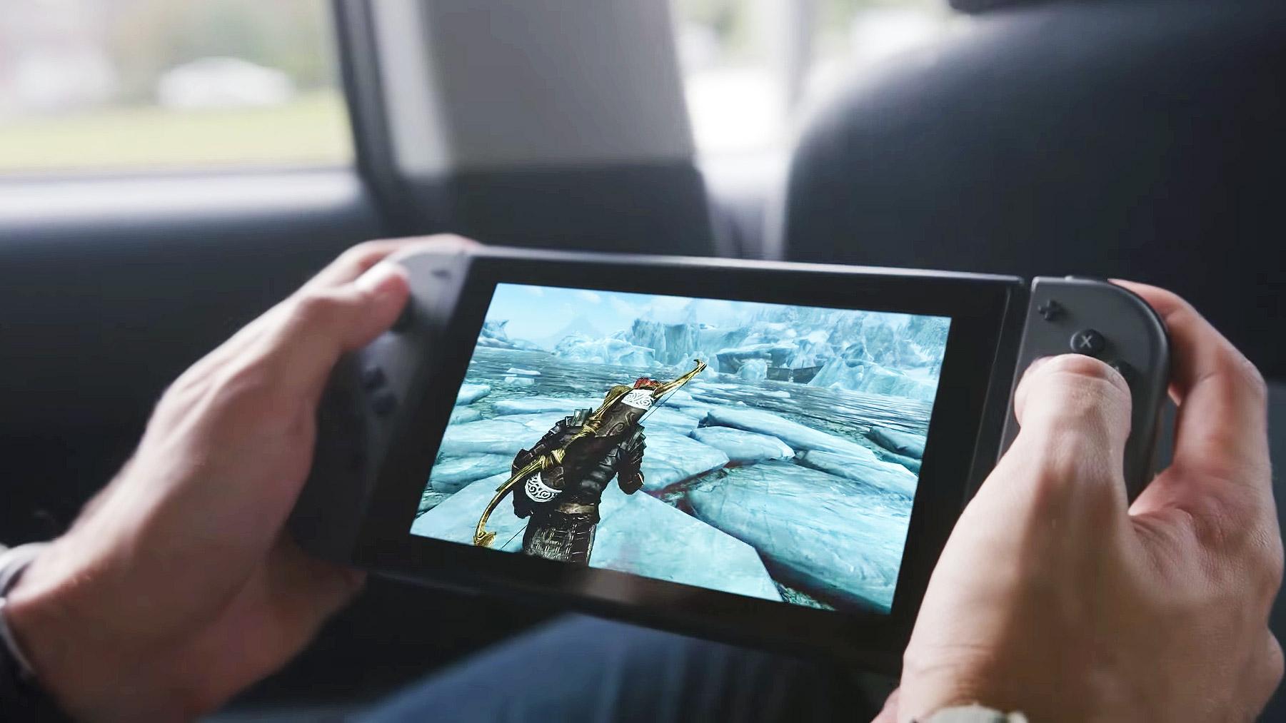 Skyrim soll auch für Nintendo Switch erscheinen.