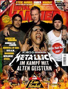 METAL HAMMER-Ausgabe 12/2016 mit Metallica