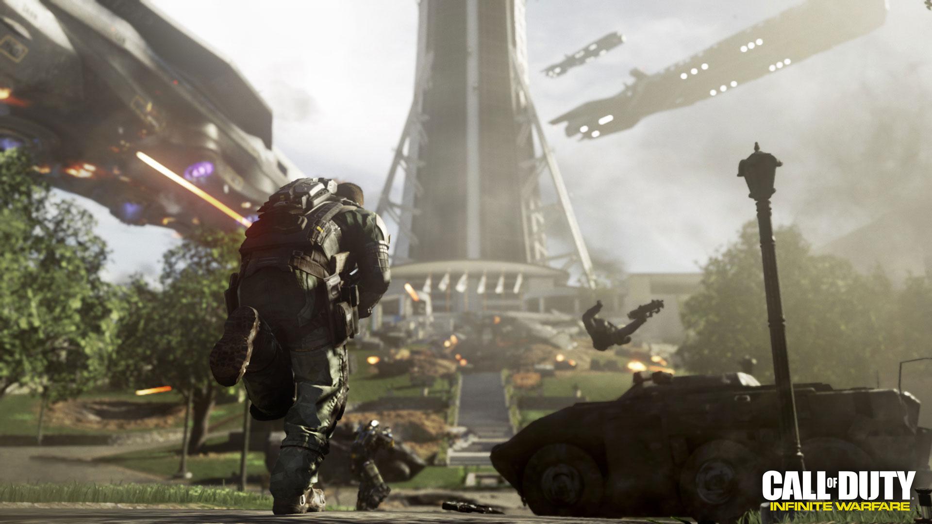 In Call Of Duty: Infinite Warfare gibt es mehrere Kriegsschauplätze
