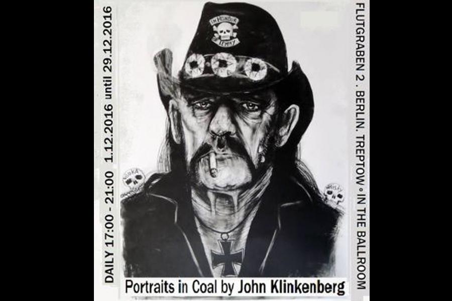 Lemmy-Portait des niederländischen Künstlers John Klinkenberg.