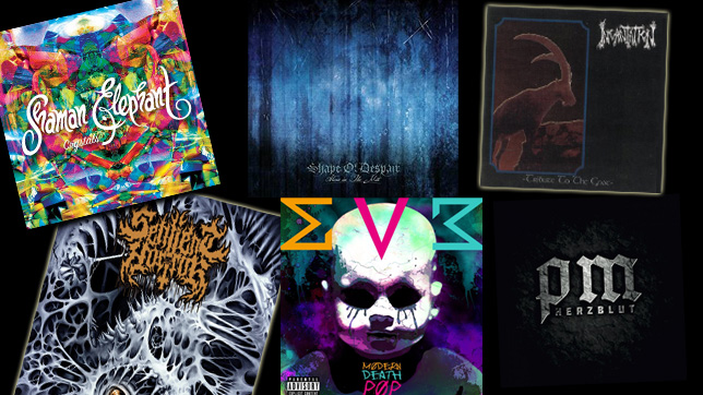 Die Metal-Alben vom 09.12.2016.