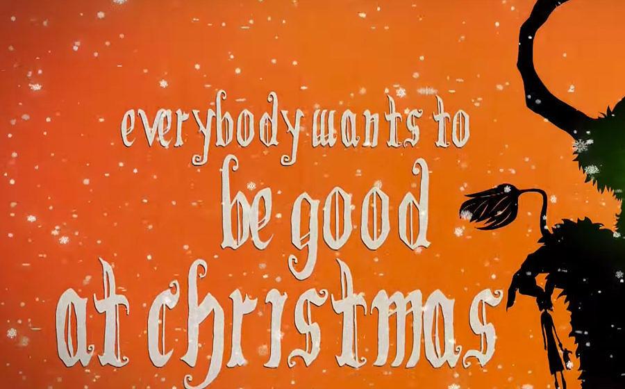 Der Lacuna Coil-Weihnachtssong.