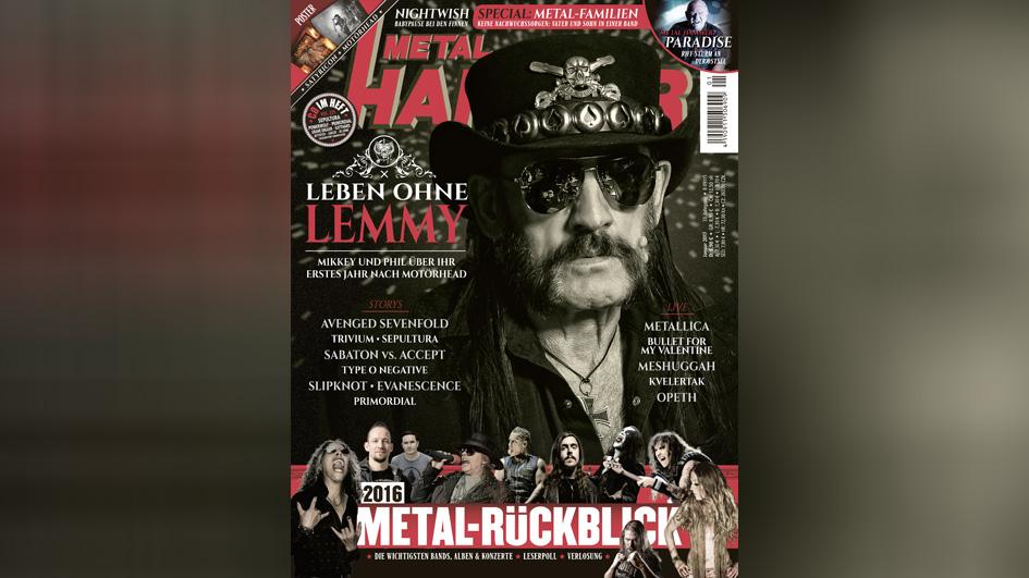 METAL HAMMER, Titel Ausgabe 01/2017