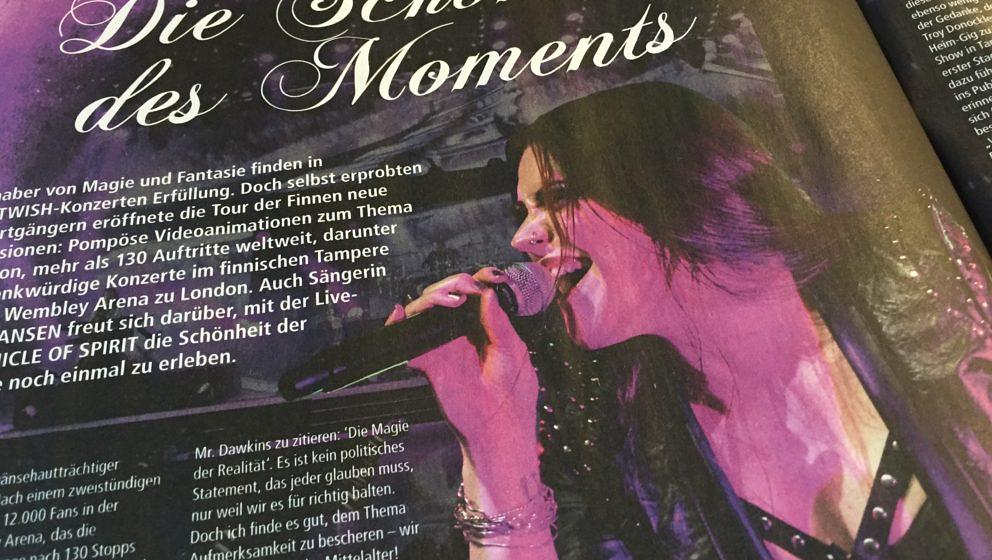Nightwish in METAL HAMMER-Ausgabe 01/2017